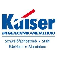 Kaiser Biegetechnik & Metallbau