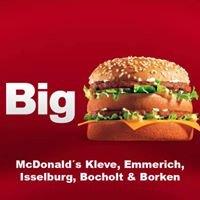 McDonald's Kleve Emmerich Isselburg Bocholt Borken