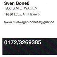 Taxi und Mietwagen Sven Boneß