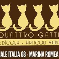 Edicola Quattro gatti Marina Romea