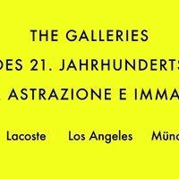 The Galleries des 21. Jahrhunderts Pour Astrazione E Immagine