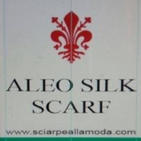 ALEO:::SILK SCARF:::MADE IN ITALY