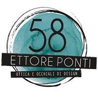 58ettoreponti ottica&occhiali di design