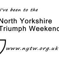 North Yorkshire Triumph Weekend