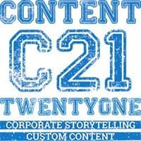 Content21 - Custom Content // Consulting // Corporate Storytelling