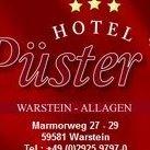 """Landhotel """"Püster"""" - Warstein / Möhnesee"""