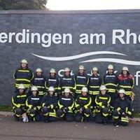 Freiwillige Feuerwehr Krefeld Löschzug Uerdingen