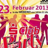 SClub Party - Sparkasse Gütersloh