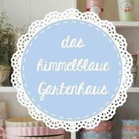 Das himmelblaue Gartenhaus - sooo süß