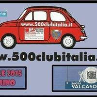 Raduno fiat 500 Club Italia Valcasoni