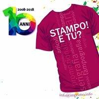 Stampo e tu?  Serigrafia - Tampografia - Imprimo