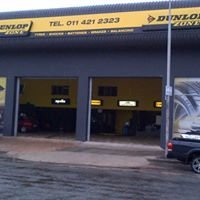 Dunlop Zone at Chamb's tyres