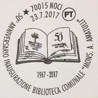 Biblioteca comunale di Noci (Bari) - Italy
