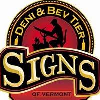 Dennis and Bev Tier Signs