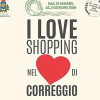 I love shopping nel cuore di Correggio