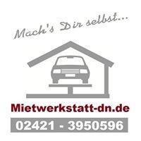 Mach's Dir selbst.    Mietwerkstatt-dn.de