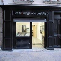 Les fromages de Laetitia