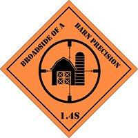Broadside Of A Barn Precision