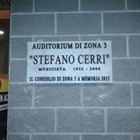 """Auditorium """"Stefano Cerri"""" di via Valvassori Peroni 56"""