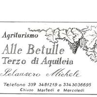 "Agriturismo ""ALLE BETULLE"""