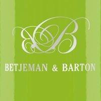 Betjeman and Barton - Marchands de Thés en Suisse