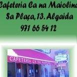 Cafeteria Ca na Maiolina Algaida Mallorca