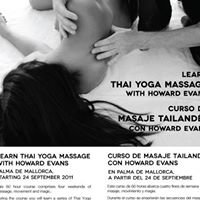 Thai Yoga Massage course in Mallorca
