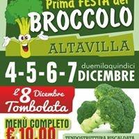 """1 festa del broccolo """"Altavillese"""""""