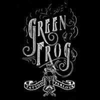 Green Frog tattoo parlour