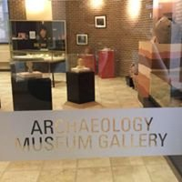 The Archaeology Museum Gallery at Gannon