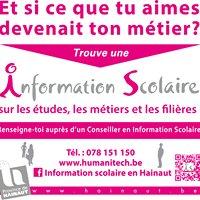 Information scolaire en Hainaut