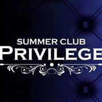 Summer Club Privilege