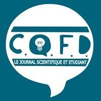 CQFD - Journal étudiant et scientifique - Lyon 1