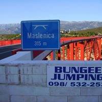 Bungee Jumping Maslenički most Zadar
