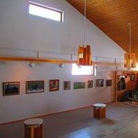 Kemijärven Kulttuurikeskus, kulttuuritoimisto, näyttelytilat ja kahvio