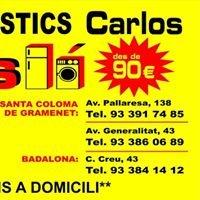 TIENDAS ELECTRODOMESTICOS CARLOS