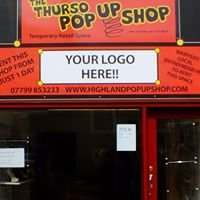 The thurso pop up shop