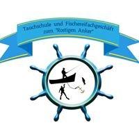 Tauchschule und Fischereifachgeschäft