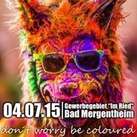 Farbfreude Festival für Bad Mergentheim