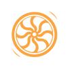 Flywheel thumb