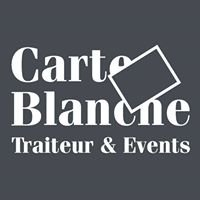 Carte Blanche Traiteur & Events