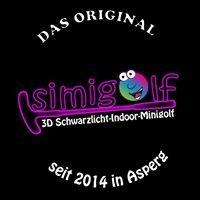 Simigolf 3D Schwarzlicht Minigolf Asperg