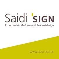 Saidi sign Experten für Marken- und Produktdesign