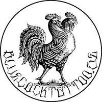 Blue Cock Tattoo