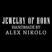 Horn Jewelry - Handmade by Alex Nikolo