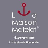 La Maison Matelot, appartements de charme à Port-en-Bessin, Normandie