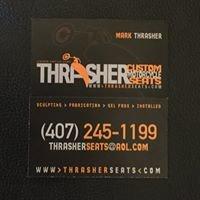 Thrasher Custom Motorcycle Seats