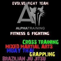 Alpha training  Evolve Fight Team