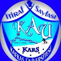 Kafkas Üniversitesi İtiraf Platformu
