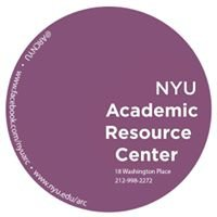 NYU Academic Resource Center